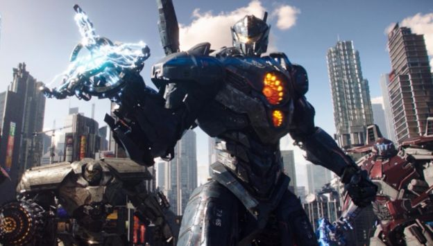"Movie poster image for ""PACIFIC RIM UPRISING"""
