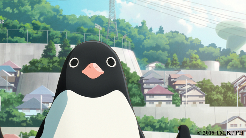 "Movie poster image for ""PENGUIN HIGHWAY"""
