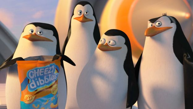 "Movie poster image for ""PENGUINS OF MADAGASCAR"""