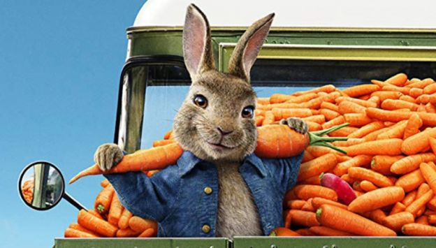 "Movie poster image for ""PETER RABBIT 2: THE RUNAWAY"""