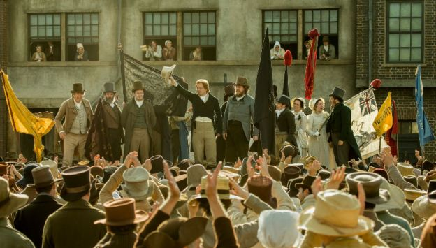 "Movie poster image for ""PETERLOO"""