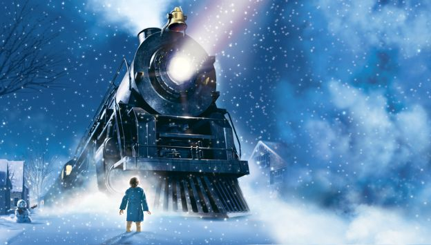 "Movie poster image for ""THE POLAR EXPRESS PAJAMA PARTY"""