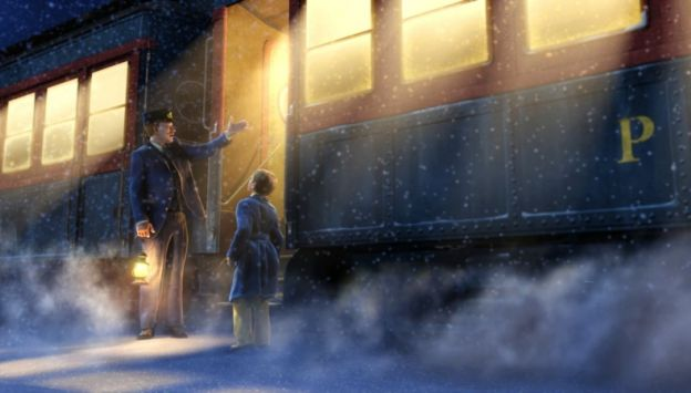 "Movie poster image for ""THE POLAR EXPRESS - PAJAMA PARTY"""