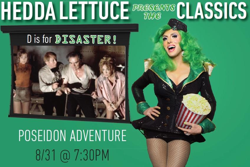 "Movie poster image for ""HEDDA LETTUCE PRESENTS: THE POSEIDON ADVENTURE"""