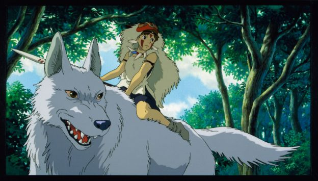 "Movie poster image for ""PRINCESS MONONOKE - Studio Ghibli Festival"""