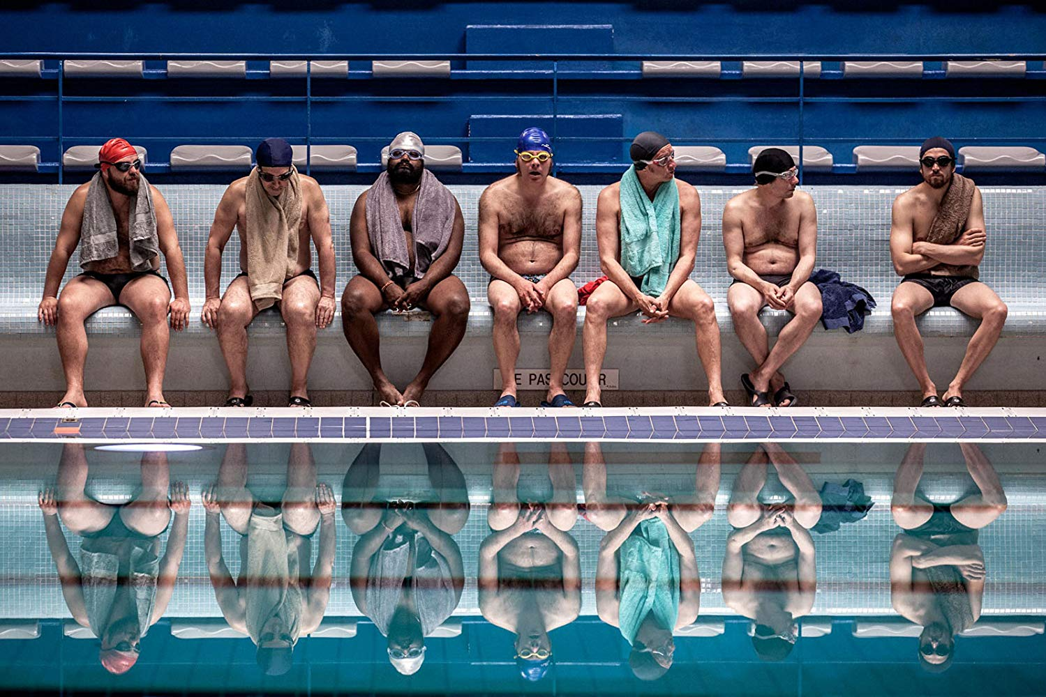 """Movie poster image for """"SINK OR SWIM (LE GRAND BAIN)"""""""
