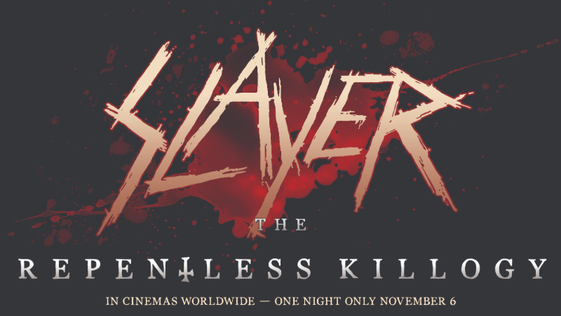 Movie poster image for SLAYER: THE REPENTLESS KILLOGY