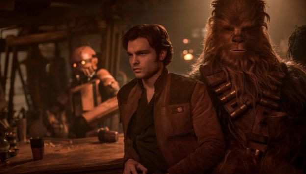 "Movie poster image for ""SOLO: A STAR WARS STORY"""