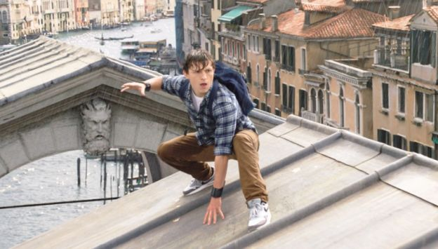 "Movie poster image for ""SPIDER-MAN: FAR FROM HOME in IMAX"""
