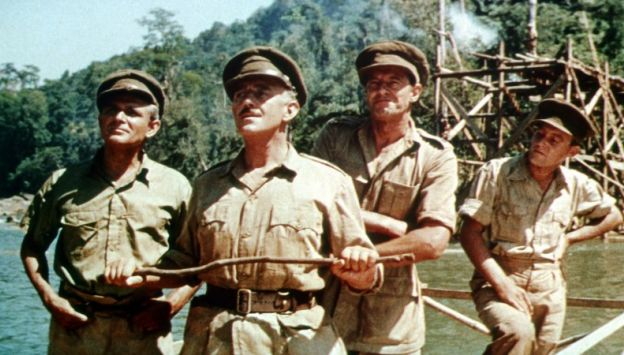 "Movie poster image for ""THE BRIDGE ON THE RIVER KWAI"""