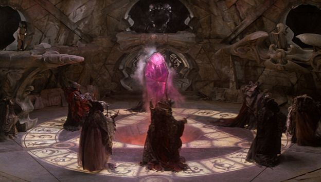 "Movie poster image for ""THE DARK CRYSTAL"""