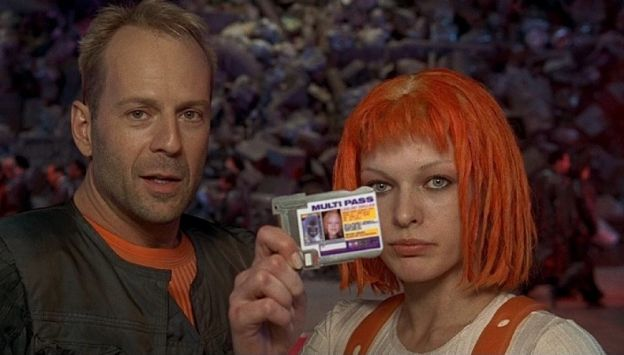 "Movie poster image for ""THE FIFTH ELEMENT"""