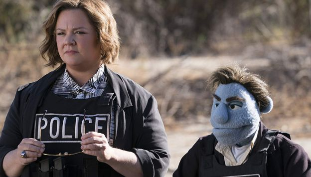 "Movie poster image for ""THE HAPPYTIME MURDERS"""