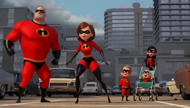 "Movie poster image for ""INCREDIBLES 2"""