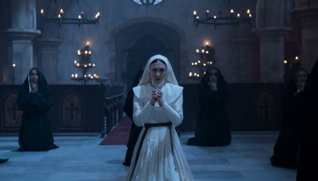 "Movie poster image for ""THE NUN"""