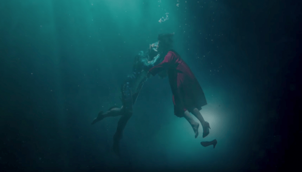 "Movie poster image for ""THE SHAPE OF WATER"""