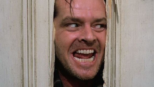 "Movie poster image for ""THE SHINING"""