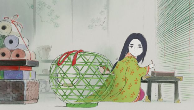 Movie poster image for THE TALE OF PRINCESS KAGUYA - Studio Ghibli Festival