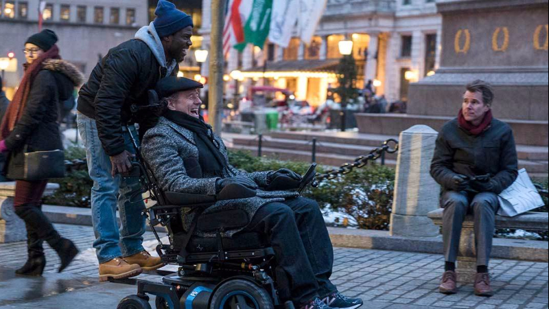 """Movie poster image for """"THE UPSIDE"""""""