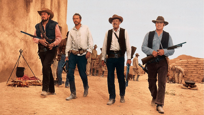 Movie poster image for THE WILD BUNCH in 35MM