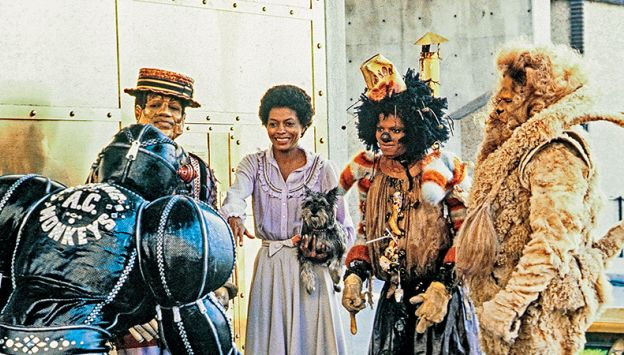 "Movie poster image for ""THE WIZ"""