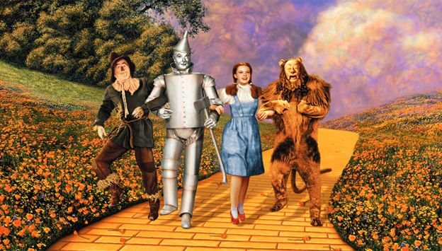 "Movie poster image for ""THE WIZARD OF OZ"""