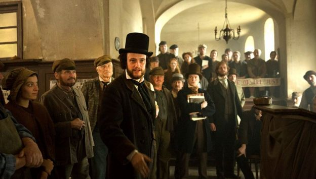 """Movie poster image for """"THE YOUNG KARL MARX"""""""