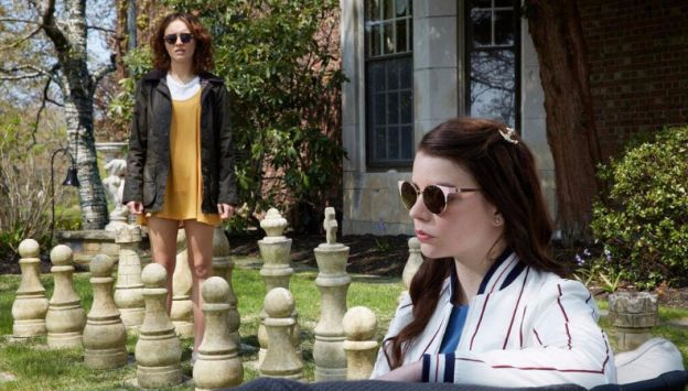 "Movie poster image for ""THOROUGHBREDS"""
