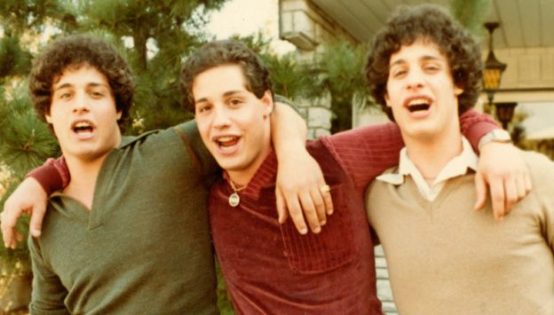 "Movie poster image for ""THREE IDENTICAL STRANGERS"""