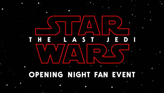 "Movie poster image for ""STAR WARS: THE LAST JEDI - OPENING NIGHT FAN EVENT"""