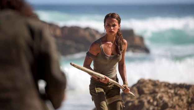 "Movie poster image for ""TOMB RAIDER"""