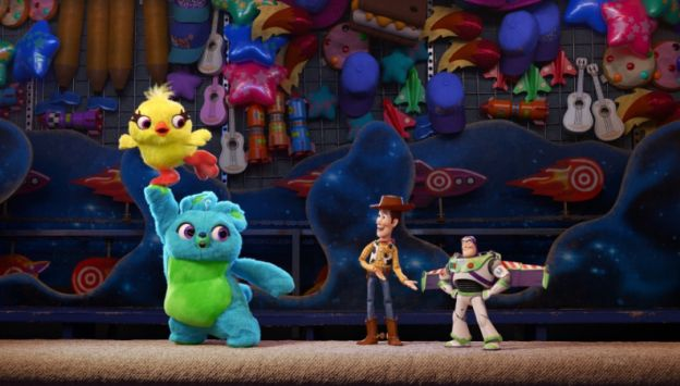 "Movie poster image for ""TOY STORY 4"""