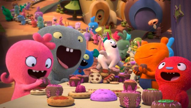 "Movie poster image for ""UGLYDOLLS"""