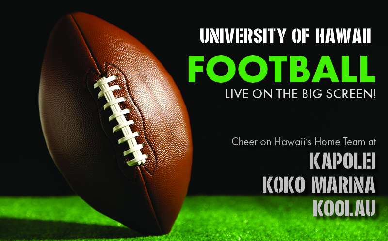 "Movie poster image for ""HAWAII vs. SAN JOSE STATE  - UH Football"""