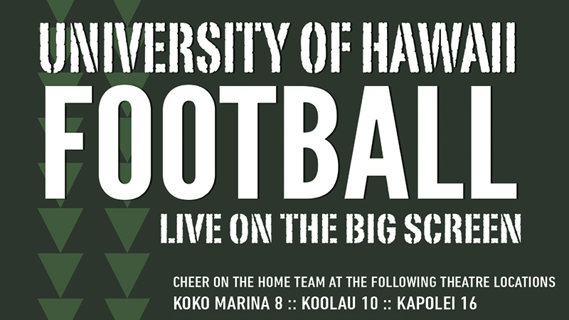 """Movie poster image for """"HAWAII vs. ARMY WEST POINT - UH Football"""""""