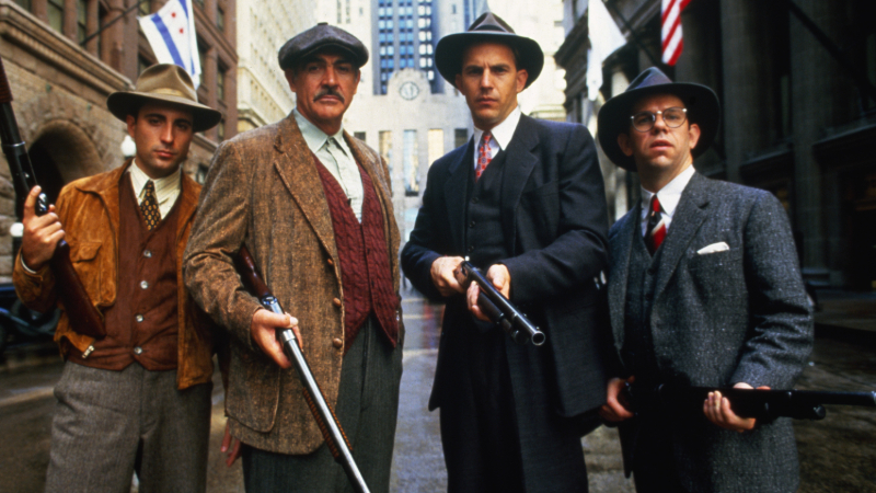 "Movie poster image for ""THE UNTOUCHABLES"""