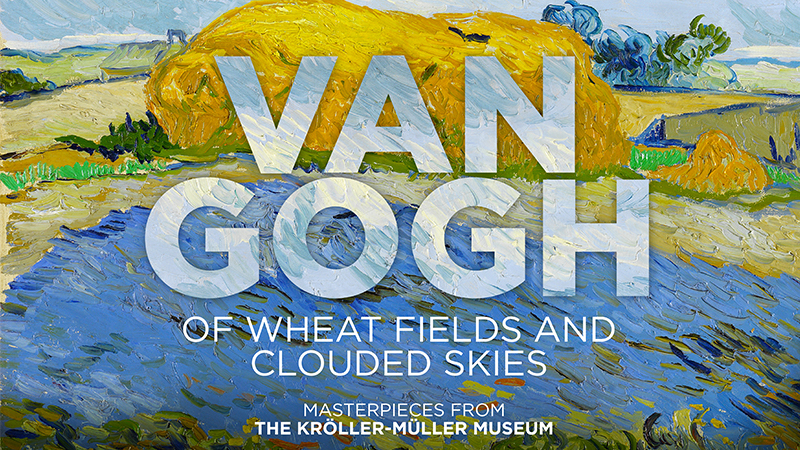 "Movie poster image for ""GREAT ART ON SCREEN: VAN GOGH: OF WHEAT FIELDS AND CLOUDED SKIES"""