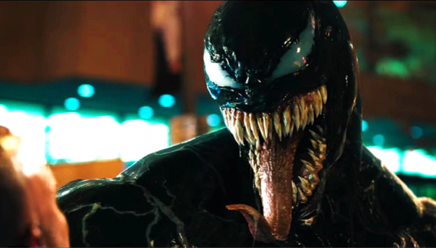 "Movie poster image for ""VENOM"""
