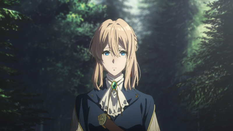 "Movie poster image for ""VIOLET EVERGARDEN: ETERNITY AND THE AUTO MEMORY DOLL"""
