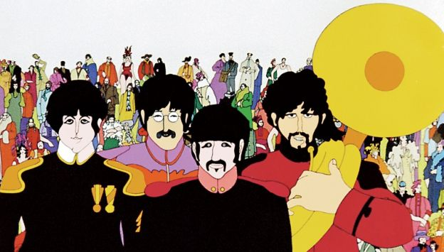 "Movie poster image for ""THE BEATLES' YELLOW SUBMARINE"""