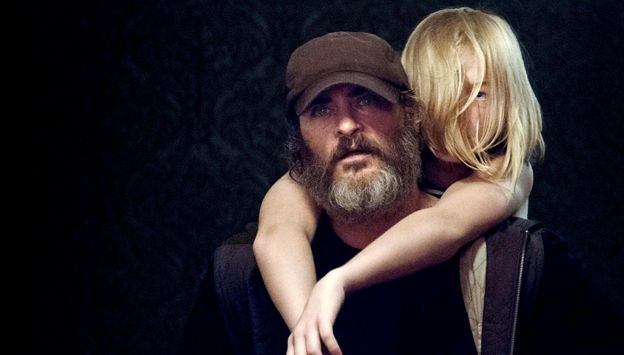 "Movie poster image for ""YOU WERE NEVER REALLY HERE"""