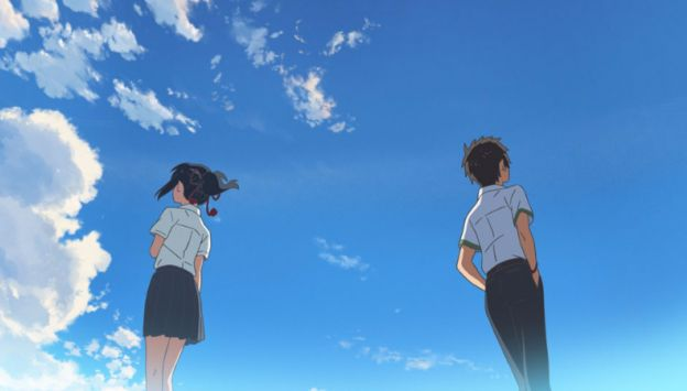 "Movie poster image for ""YOUR NAME."""