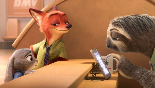 "Movie poster image for ""ZOOTOPIA"""