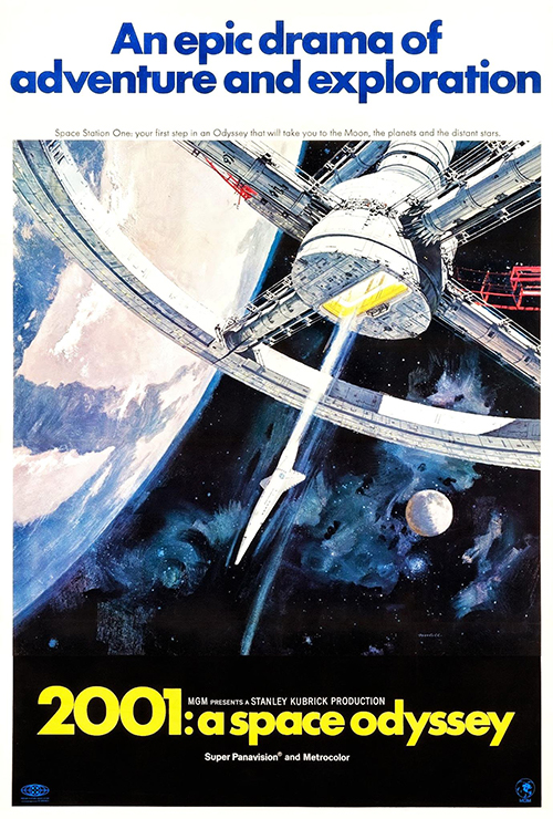 """Movie poster image for """"2001: A SPACE ODYSSEY - Heeere's Kubrick"""""""