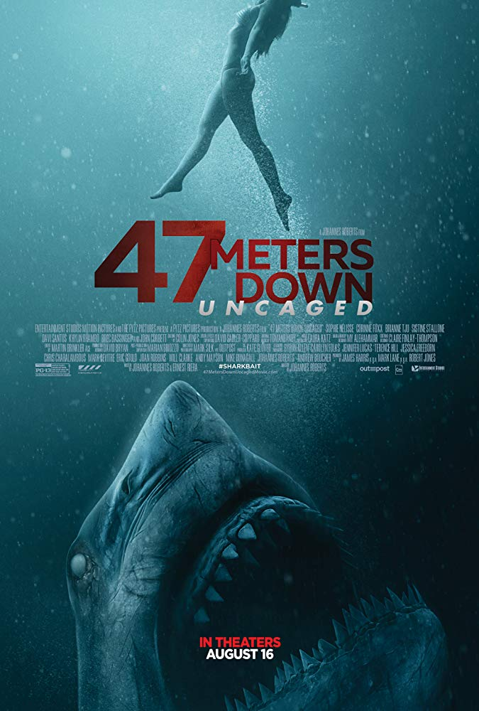 "Movie poster image for ""47 METERS DOWN: UNCAGED"""