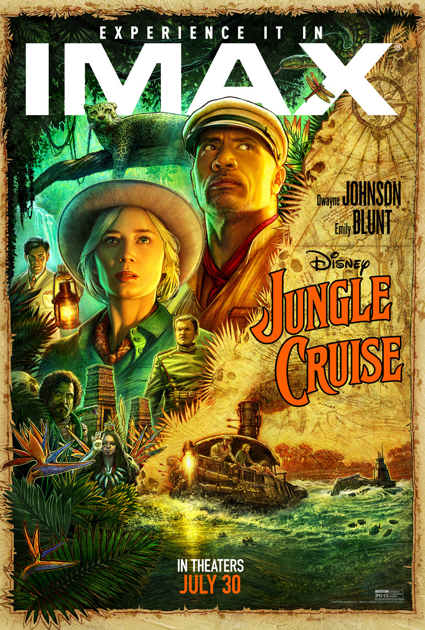 Movie poster image for JUNGLE CRUISE in IMAX