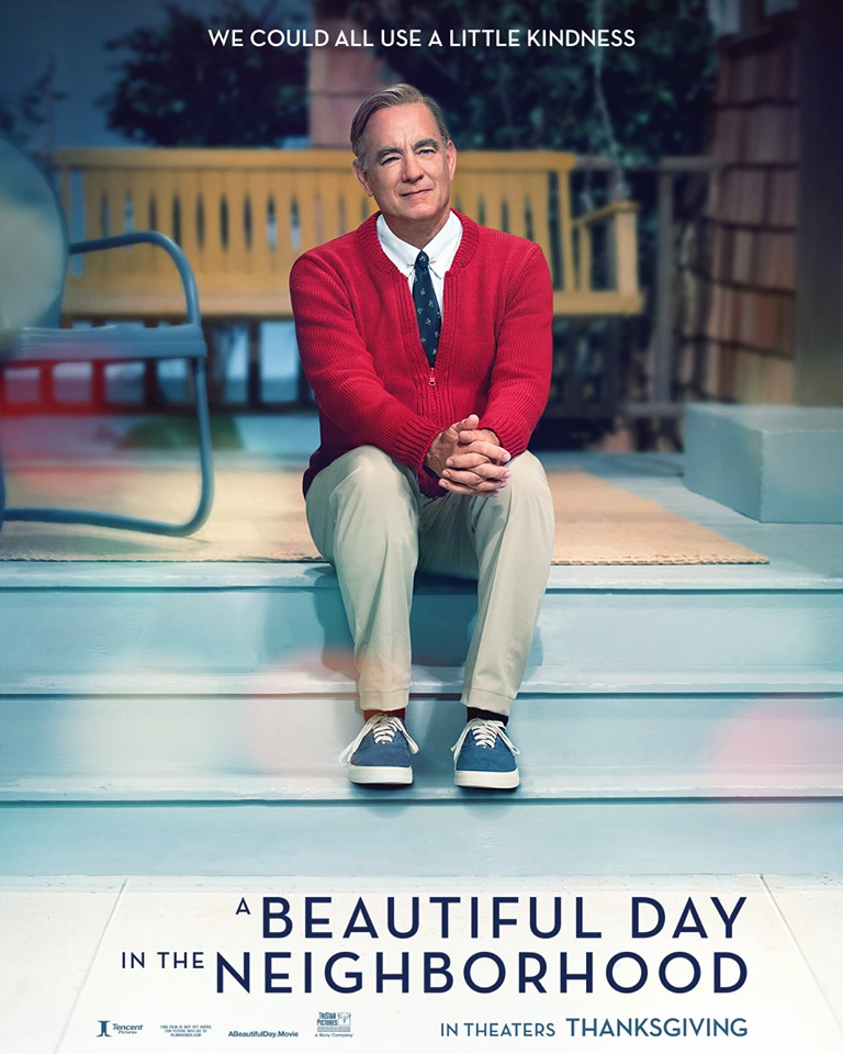 "Movie poster image for ""A BEAUTIFUL DAY IN THE NEIGHBORHOOD"""