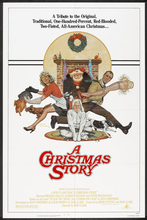 "Movie poster image for ""A CHRISTMAS STORY"""