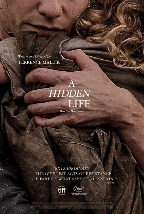 "Movie poster image for ""A HIDDEN LIFE"""