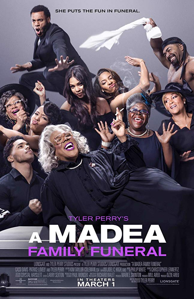 "Movie poster image for ""TYLER PERRY'S A MADEA FAMILY FUNERAL"""